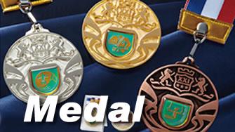競技用メダル - もっとも多く授与されているアワードグッズです!!