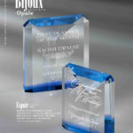 レ・ビジュー オパール 光学ガラス製 表彰楯 Espoir(エスポワール)希望