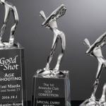 スポーツ競技に最適 Edgeシリーズトロフィー AK-1514(ゴルフ)・AK-1515(野球)