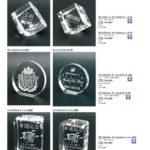 2D加工クリスタル製品2 ZE-223-1~6