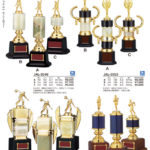 各競技選択トロフィー JAL-3547・JAL-2801・JAL-3549~3550