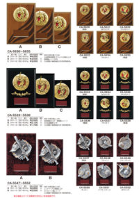 楯 CA-5630~5635・CA-5533~5538・CA-5547~5552